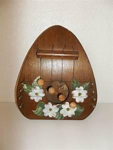Wooden door wall decor : Wooden door chime vintage knocker instrument wall