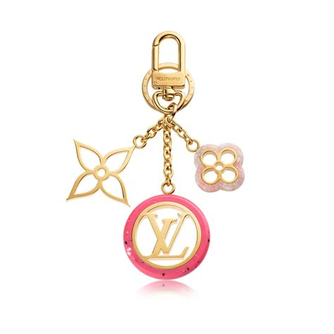 colorline bag charm  key holder accessories louis vuitton