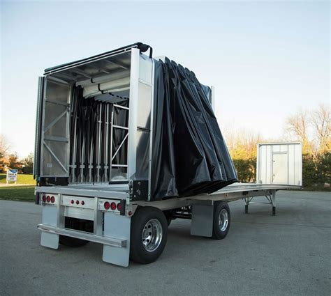 conestoga xp flatbed trailer tarp system for sale jes