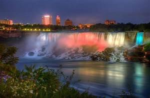 Niagara Falls Canada Sunset Photograph by Wayne Moran