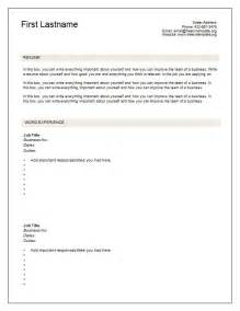 free resume format download free resume templates 7 free blank cv resume templates for download free cv template dot org