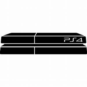 Ps4 Game Console Free Entertainment Icons