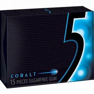 Wrigley's 5 Cobalt Gum 15 pcs (10-Pack)-11669 - The Home