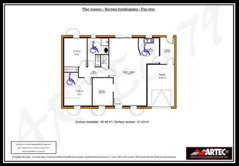 maison de l handicap plan maison handicape