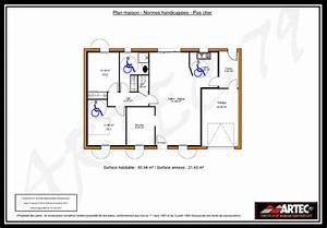 Plan maison handicape for Plan de maison pour handicape