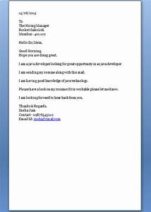 how to start a cover letter With how to start a cover letter email