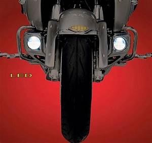 Lower Fog Light Kit  Halogen Or Led   Honda Gl 1800 Gold