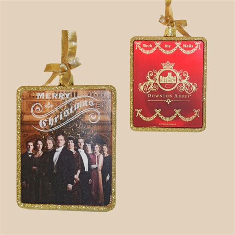 downton abbey christmas ornaments winston s gift shop