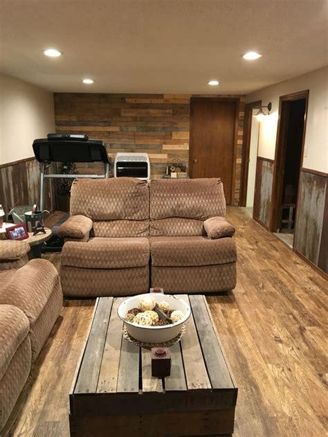 basement remodel palletwallrocks cheap basement
