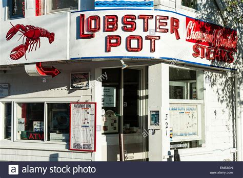 the lobster pot restaurant provincetown cape cod massachusetts stock photo royalty free