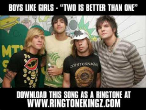 Boys Like Girls Ft Taylor Swift  Two Is Better Than One