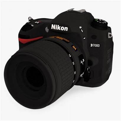 3d Camera Nikon Digital D7000 Models Dslr