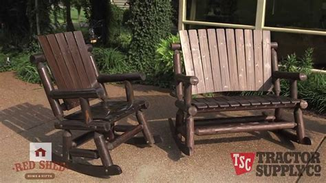 Tractor Supply Outdoor Rocking Chairs by Tractor Supply S Shed Out Door Furniture