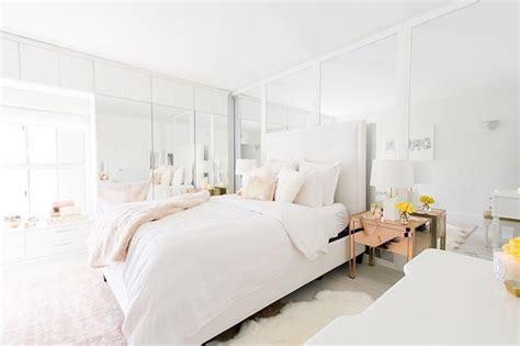 sydne summers gorgeous west hollywood home  blush white