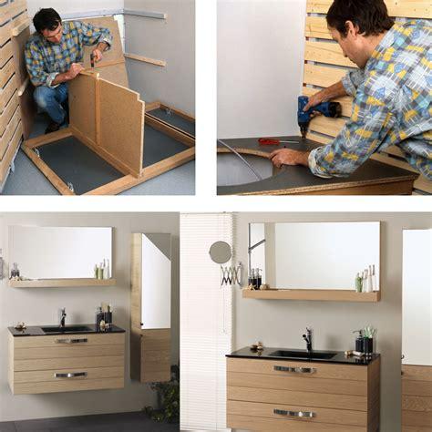 fabriquer meuble cuisine soi meme comment fabriquer soi même un meuble pour le lavabo