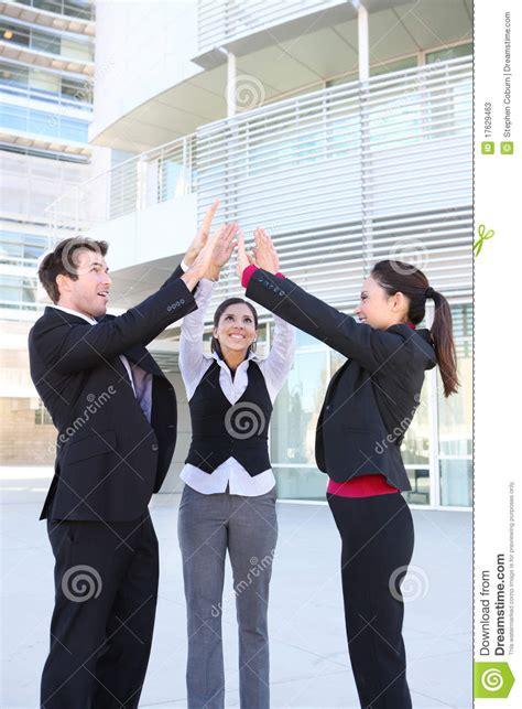 business team celebration stock  image