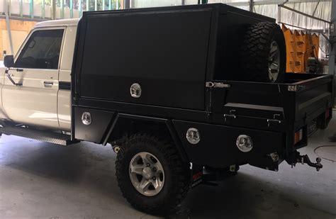 custom aluminium canopy  toyota landcruiser ute