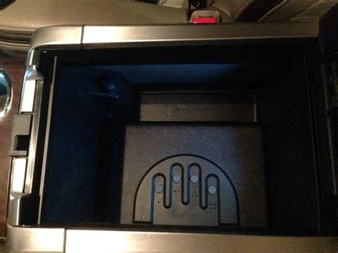 safe gun vault console center micro truck f150 ford installed install