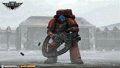 Warhammer Regicide Firing Wh40k Marine Space Animated