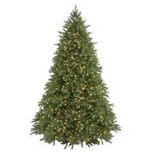 7 5 ft feel real jersey fraser fir artificial christmas tree with 1250 clear lights pejf4 300