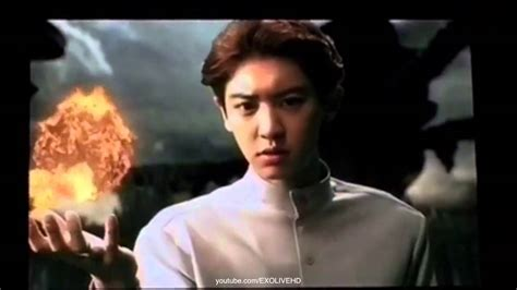 exo super power fancam 150307 exo chanyeol super power vcr at the exo