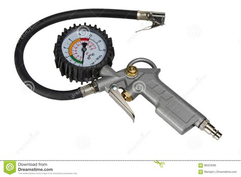 Car Bike Tire Pressure Gauge Manometer For Air Pump