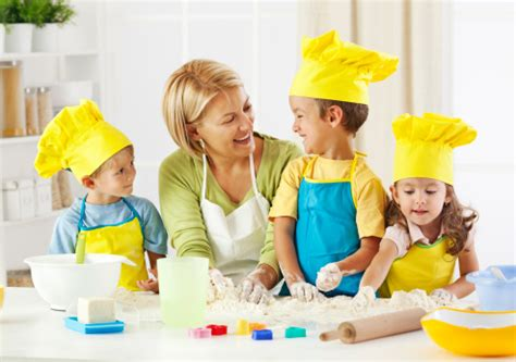 maman cuisine transmettre sa de la cuisine à ses enfants