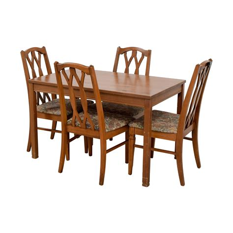 wood kitchen table and chairs 83 wood kitchen table and floral upholstered chairs
