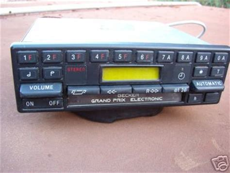 wanted becker grand prix radio cass 612 peachparts mercedes shopforum