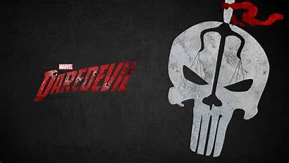 Punisher Wallpapers Daredevil Netflix Season Skull Pc