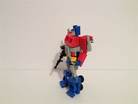g1 optimus prime v4 a lego 174 creation by studentscissors
