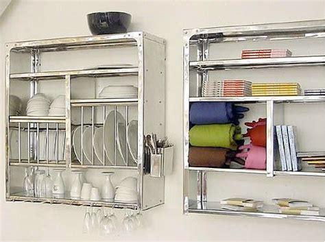 good question   wall mounted dish rack wall mount metals  metal shelving