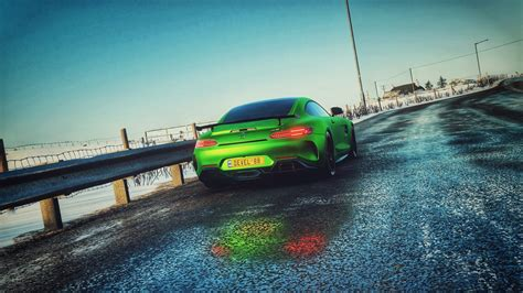 Realistic driving mercedes amg gt r on forza horizon 4 with logitech g920 steering wheel for xbox one & pc. 배경 화면 : 메르세데스 AMG, Mercedes AMG GTR, AMG GTR, 차, Forza ...