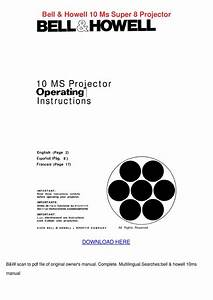 Bell Howell 10 Ms Super 8 Projector By Charlyn Obst