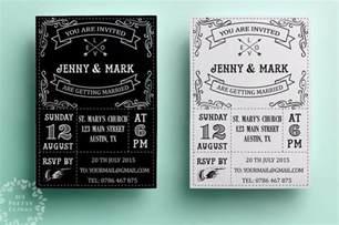 invitation design retro wedding invitation template printable wedding invitation design black and white vintage