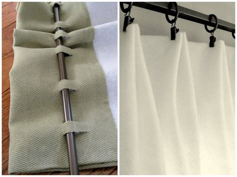 Make Drapes - diy home staging tips no sew window treatments why
