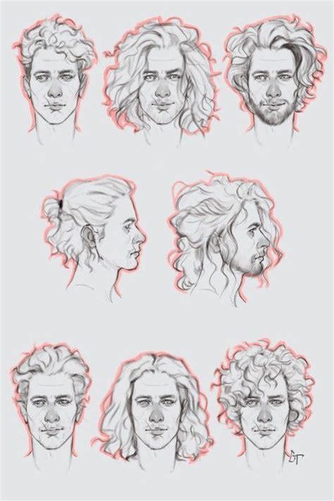cabeloshairstyles curly hair   drawings hair sketch   draw hair