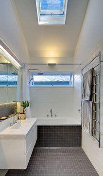 long awning type window  shower eglinton street contemporary bathroom sydney