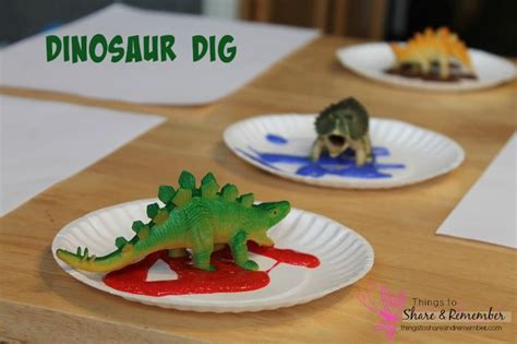 dinosaur preschool activities 806 | Dinosaur Dig