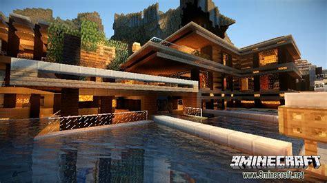 luxurious cove house map   minecraft minecraftnet