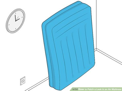 how to patch in air mattress 3 ways to patch a leak in an air mattress wikihow