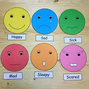 Preschool Feelings Faces Emotions
