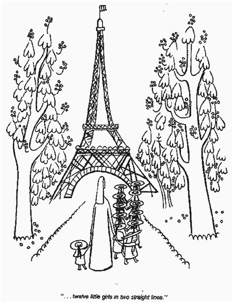 Children will also like this scene of the Eiffel Tower