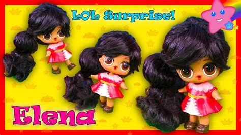 Elena Of Avalor Custom Lol Surprise Doll How To Toy