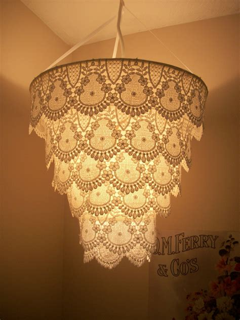 shades of light chandeliers venise lace faux chandelier pendant l shade by cokiethebaby