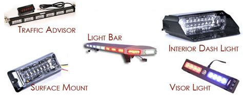 Emergency Vehicle Light Mount Types And Color Choices