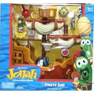 Jonah VeggieTales Pirate Ship Playset
