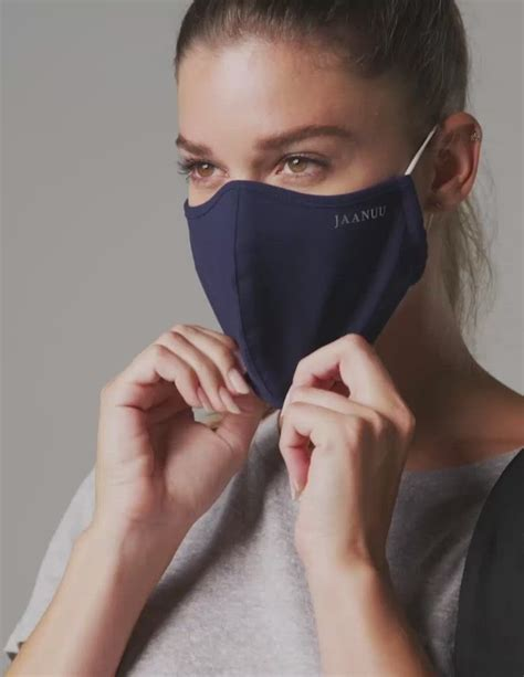 Jaanuu Reusable Antimicrobial Finished Face Mask Adult ...