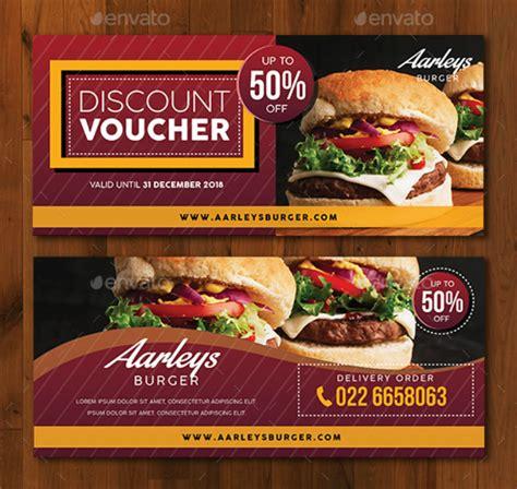 restaurant promo card templates  premium templates