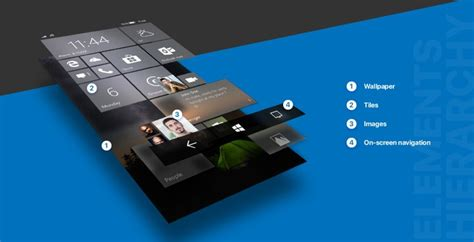 concept artist reimagines windows 10 mobile with fluent